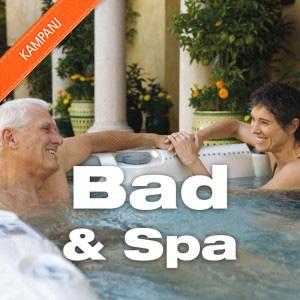 Spa & bad i vår webbshop!